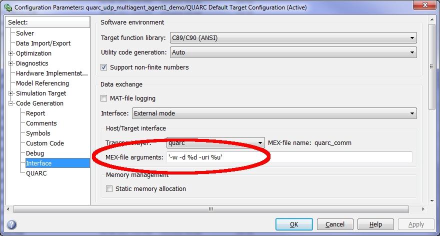 QUARC UDP Multi-Agent Demo :: QUARC Demos