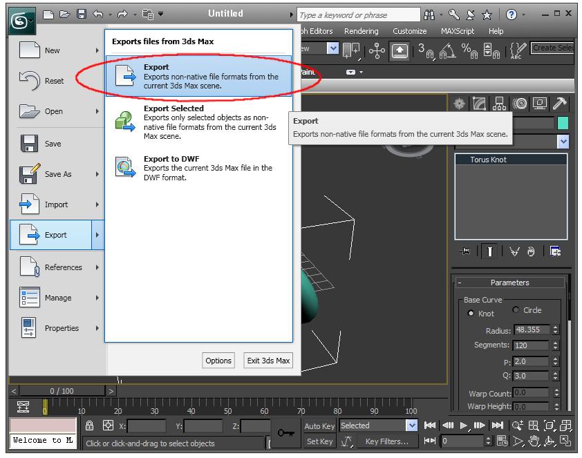 3ds Max X3D Plugin :: QUARC